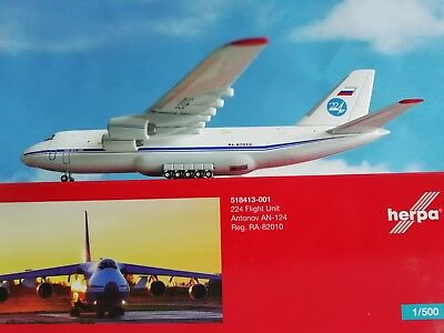 1:500 518413-001  224th Flight Unit Antonov AN-124 HerpA wINGS