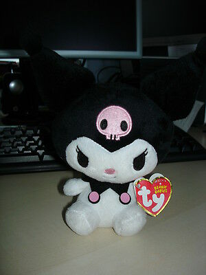 Ty Beanie Babies Kuromi Soft Plush Hello Kitty BNWT Collectible