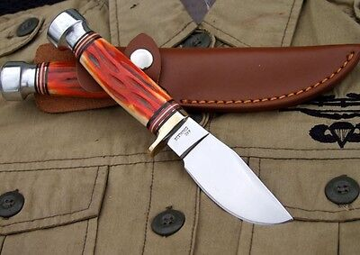 """7.87"""" Small Fixed Blade Survival Collect Hunting KNIFE"""
