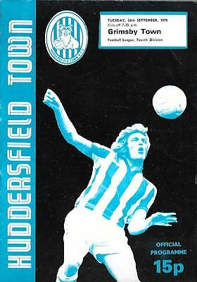 HUDDERSFIELD TOWN   v.   GRIMSBY TOWN.   Division Four.   1978/79