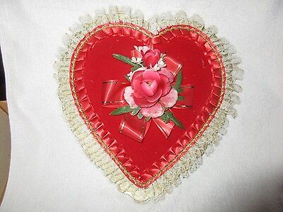 """Vintage Valentine's Day """" #1 Persian Princess Heart """" Candy Box"""