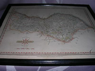 Original Hand Coloured John Cary 1793 North Riding Of Yorkshire Map