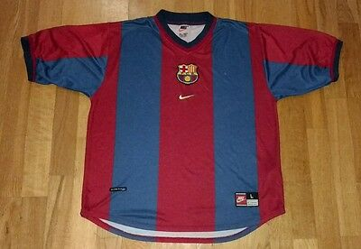 Barcelona Nike adult large football shirt
