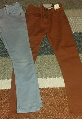 Boys Next Skinny Jeans Age 8 Years 1 Pair New With Tags