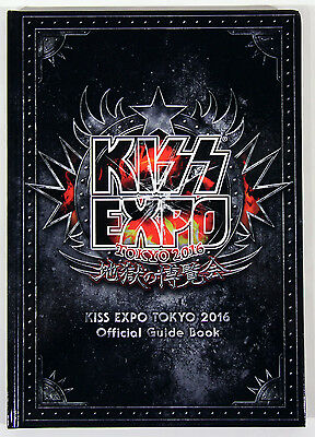 KISS Expo Tokyo 2016 Official Guide Book Hard Cover Mint