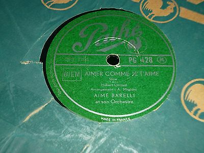 """Collection Joblot of 4x Various PATHE Label 10"""" 78RPM Gramophone Records 31/66"""