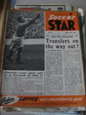 30.6.1956 Soccer Star Magazine Vol 4 No 40