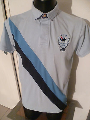superbe polo rugby serge blanco taille:L