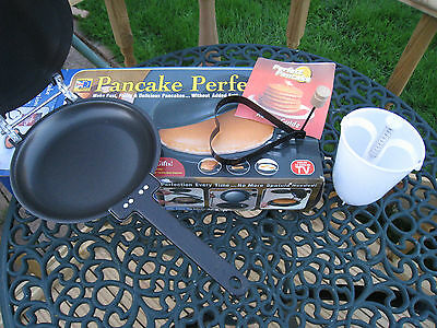 Boxed Pancake Maker With Batter Dispenser, Instructions & Heart Shaped Mould