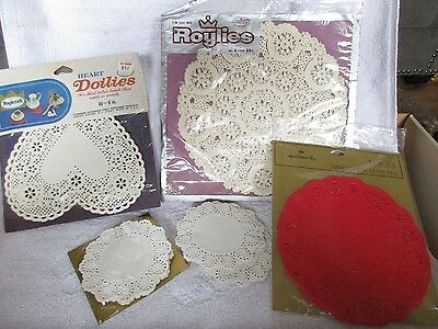 Valentine's Day French Lace Doilies