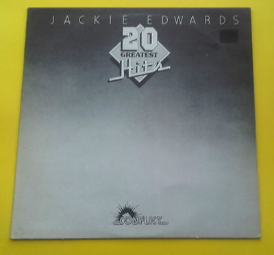 Jackie Edwards 20 Greatest Hits Conflict Lp Colp 2003