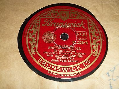 """Collection Lot of 10x DANCE BAND 10"""" 78RPM Gramophone Records 31/72"""