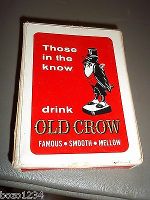Old Crow Kentucky Whiskies Distillery Two Crows You See Good Luck To Thee Cards