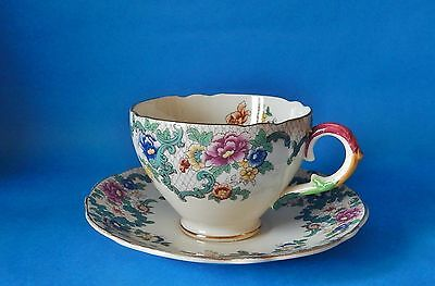 Royal Cauldon Victoria Tea Cup & Saucer