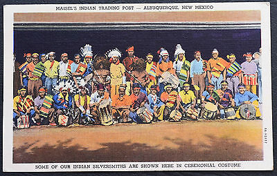 Postcard ~ Maisel's Indian Trading Post ~ Albuquerque, New Mexico ~ Posted 1947