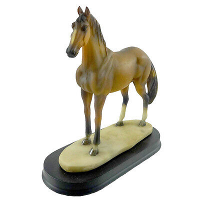 Animal BROWN HORSE Resin 4.5 In. Full Body Pony Statue Figurine 11414