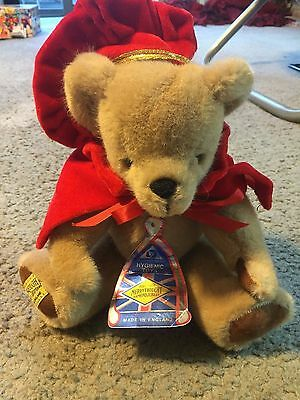 Awesome Merry Thought Diamond Jubilee England mohair bear royalty NWT jointed