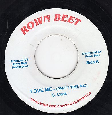""""""" LOVE ME. """" ( party time mix ) sam cooke. ROWN BEAT 7in."""