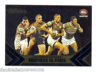 2014 NRL ESP Traders Brothers in Arms-The FOUR Burgess brothers