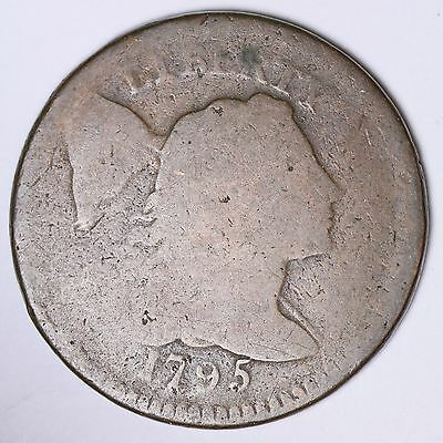 1795 Flowing Hair Large Cent Penny CHOICE FREE SHIPPING E107 CHT