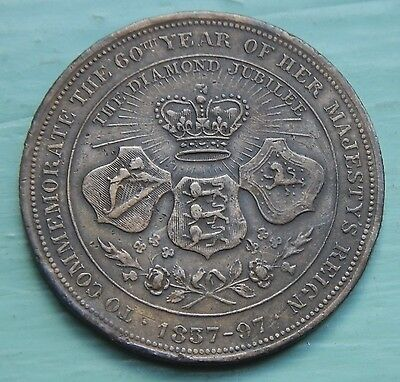Penny Token Four Generations of The British Royal Family 1897
