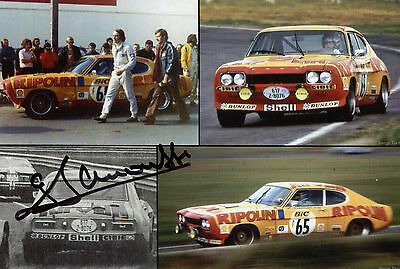Gérard Larrousse Ford Capri RS 2600 Tour de Fance 1972 Top Foto 10x15