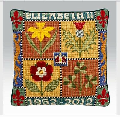 Ehrman Tapestry Candace Bahouth - Diamond Jubilee, Elizabeth II. Completed