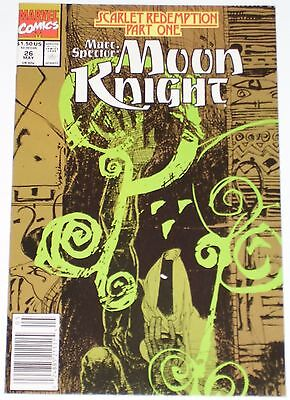 Marc Spector: Moon Knight #26 from May 1991 VF+ to NM-