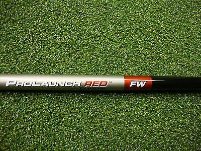 NEW Grafalloy Prolaunch Red 65 Stiff Flex Graphite Fairway Wood Shaft