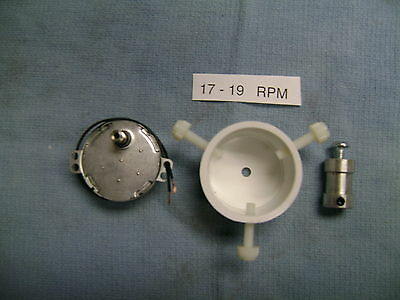17-19  RPM  ROD DRYER MOTOR  with Rod Chuck