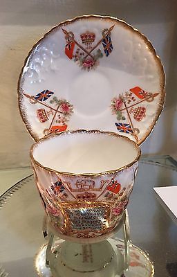 Superb Queen Victoria Diamond Jubilee Cup and Saucer