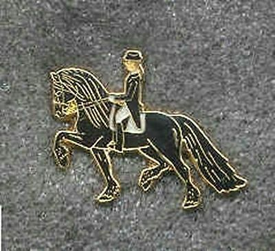 Collectible Pin HORSE DRESSAGE FRESIAN Hat Pin/Tietac OVERSTOCK SALE