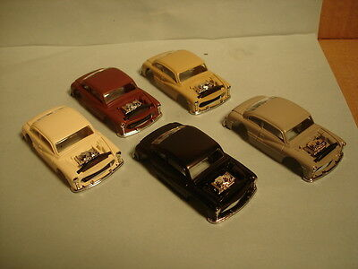 Ho Xtras Body Lot #3 5 1949 Hot Rod Coupe Bodies 5 Colors See Details Fits Afx