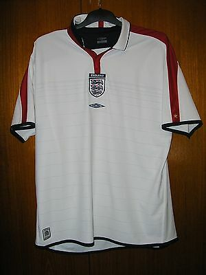 England Football Shirt Umbro Home 2003/5 Reversible size XXL