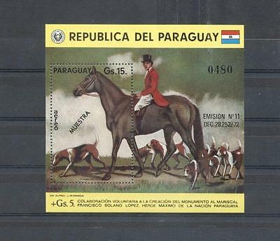 (933727) Horse, Dogs, Hunting, Paraguay