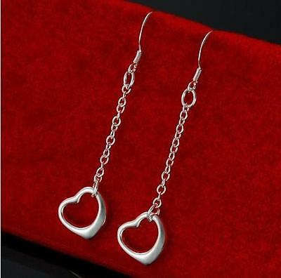 Global Wholesale gorgeous solid 925silver Earring fashion Christmas gift Wedding