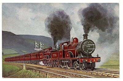 MR 4-4-0s 774/1007: ERIC OLDHAM 'PREGROUPING EXPRESS TRAINS' POSTCARD SERIES No2
