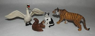 Lot of Schleich Animals Tiger Goose Cat & more