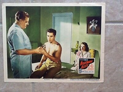 Tyrone Power in Nightmare Alley 1947  Looking Sexy Shirtless!