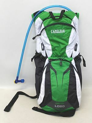 NEW CAMELBAK Lobo Shamrock Green White & Grey Cycling 3 Litre Hydration Backpack