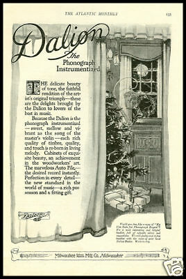 1921 vintage ad for Dalion Phonographs