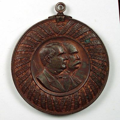 1897 William McKinley official (1st) inaugural medal
