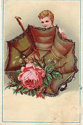 Victorian Greeting Card