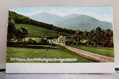 New Hampshire NH Mt Washington Carriage Toll Houses Postcard Old Vintage Card PC