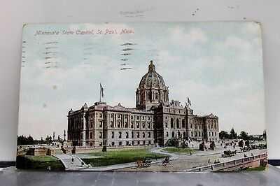 Minnesota MN St Paul State Capitol Postcard Old Vintage Card View Standard Post