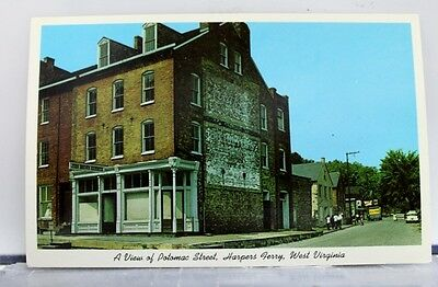 West Virginia WV Harpers Ferry Potomac Street Postcard Old Vintage Card View PC