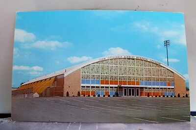 New Hampshire NH Manchester Kennedy Coliseum Postcard Old Vintage Card View Post