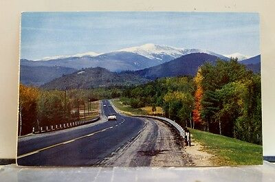 New Hampshire NH Intervale Mt Washington Postcard Old Vintage Card View Standard