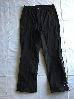 Men's GALVIN GREEN Gore-tex Paclite  BLACK GOLF PANTS size S President's Cup A7