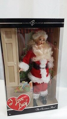 Barbie Lucille Ball I Love Lucy Doll The Christmas Show Santa Claus Suit Nrfb